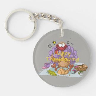 Thanksgiving Keychain