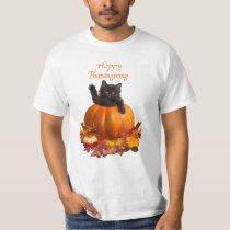 Thanksgiving Kitty T-Shirt