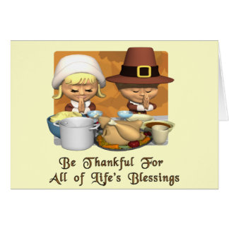Thanksgiving: Life's Blessings Card