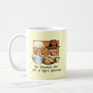 Thanksgiving: Life's Blessings Classic White Coffee Mug