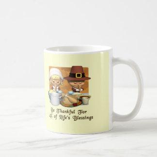 Thanksgiving: Life's Blessings Coffee Mugs