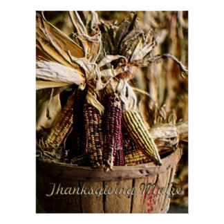Thanksgiving Maize Poster