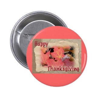 Thanksgiving Maple Leaves Coordinating Items 2 Inch Round Button
