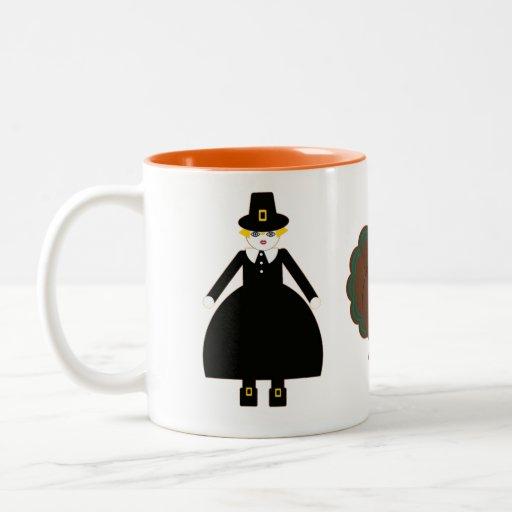 Thanksgiving Martzkin Mug © 2012 M. Martz
