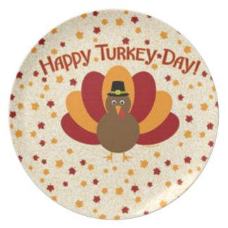 Good Thanksgiving Melamine Plate