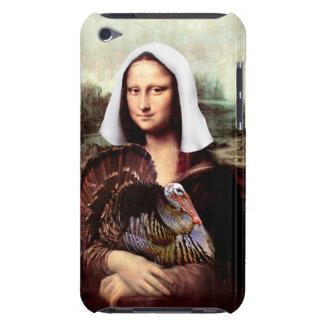 Thanksgiving Mona Lisa Pilgrim iPod Case-Mate Case