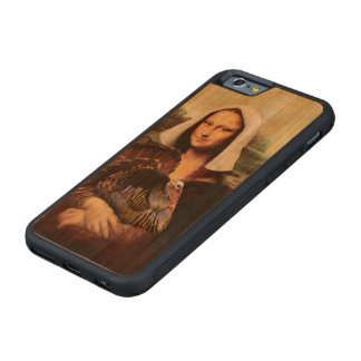Thanksgiving Mona Lisa Pilgrim Carved® Cherry iPhone 6 Bumper