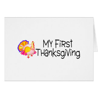 Thanksgiving My First Thanksgiving Cards
