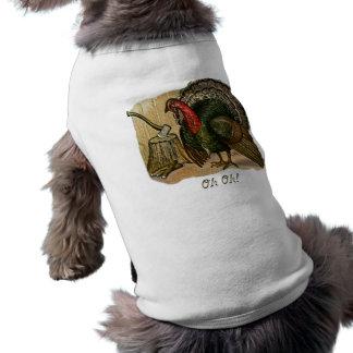 Thanksgiving Oh Oh Pet Tshirt