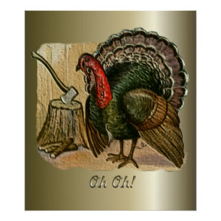 Thanksgiving Oh Oh Poster