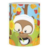 Thanksgiving Owl - 1 Flameless Candle