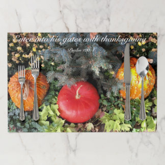 Thanksgiving Paper Placemat