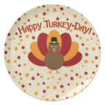 thanksgiving party plate