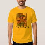 Thanksgiving Patchwork Turkey T-Shirt