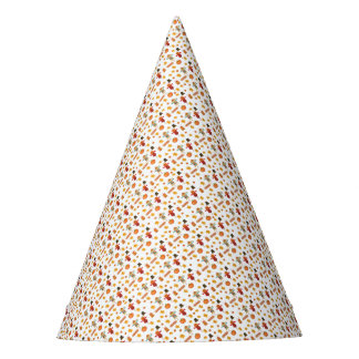 Thanksgiving pattern party hat