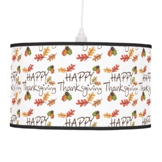 Thanksgiving Pendant Lamps