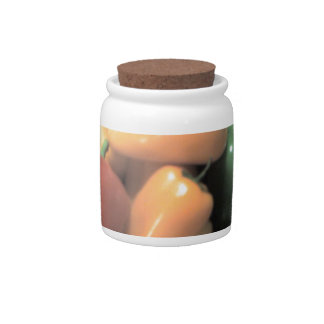 Thanksgiving Peppers Candy Jars
