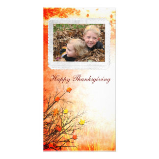 thanksgiving Photcard Card