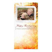 thanksgiving Photcard Card