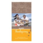THANKSGIVING PHOTOCARD :: falling leaves 1 Card