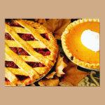 Thanksgiving Pie Invitation