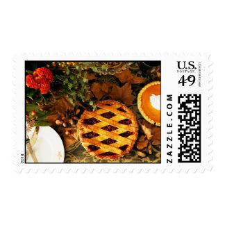 Thanksgiving Pie Stamp