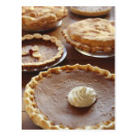 Thanksgiving pies, (Close-up) Postcard