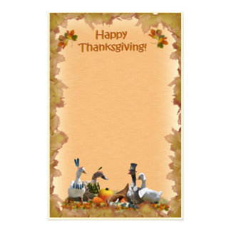 Thanksgiving stationery zazzle for Thanksgiving letterhead