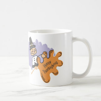 Thanksgiving Pilgrim Boy Coffee Mug