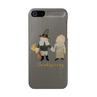 Thanksgiving Pilgrim Puritan Toddler Girl and Boy Metallic iPhone SE/5/5s Case