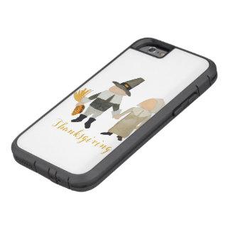 Thanksgiving Pilgrim Puritan Toddler Girl and Boy Tough Xtreme iPhone 6 Case