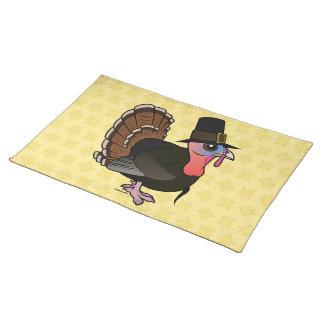 Thanksgiving Pilgrim Turkey Place Mats