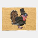 Thanksgiving Pilgrim Turkey Towel
