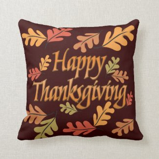 Thanksgiving Pillows