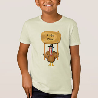 Thanksgiving Pizza (customizable) T-Shirt