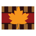 Thanksgiving Place Cards Business Card Template