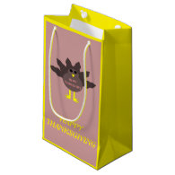 Thanksgiving Plucked Turkey Custom Gift Bag