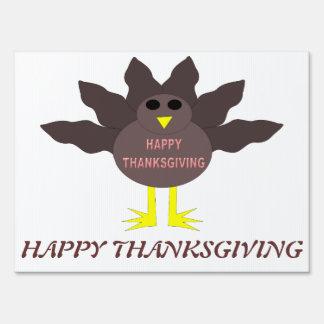 Thanksgiving Plucked Turkey Custom Sign