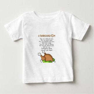 Thanksgiving Poem Baby T-Shirt