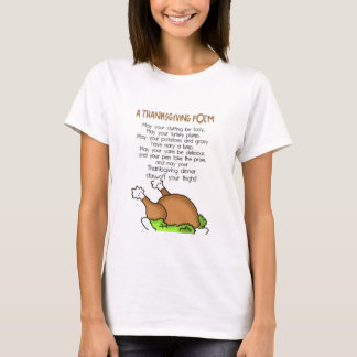 Thanksgiving Poem T-Shirt