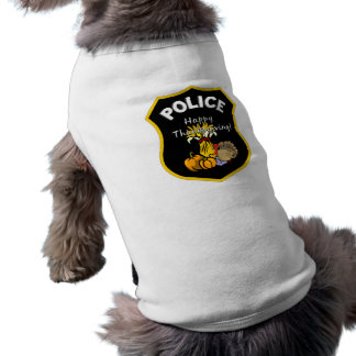 Thanksgiving Police Dog Tee