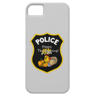 Thanksgiving Police iPhone SE/5/5s Case