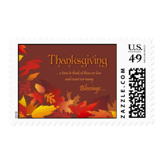 Thanksgiving Postage Stamp
