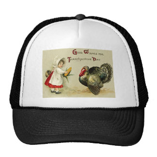 Thanksgiving Postcard Trucker Hat