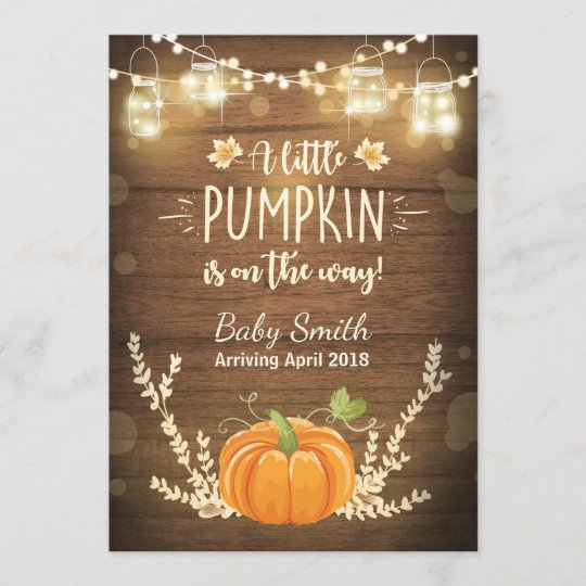 c28979e47 Thanksgiving pregnancy announcement Little Pumpkin | Zazzle.com