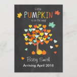 Thanksgiving pregnancy announcement Pumpkin