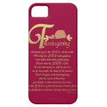 Thanksgiving - Psalm 100 iPhone 5 Cases