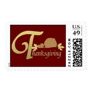 Thanksgiving - Psalm 100 Postage Stamp