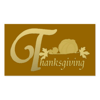 Thanksgiving - Psalm 100 - Tract Card / Business Cards