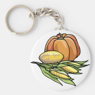 Thanksgiving Pumpkin Keychain